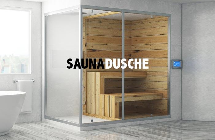 Saunadusche